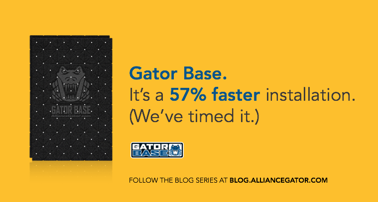 17 Gator Base 57 Percent Faster