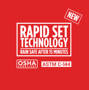 8 Rapid Set Technology