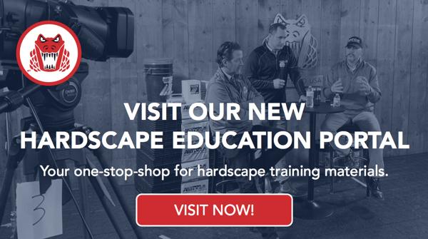 Hardscape Training Portal CTA